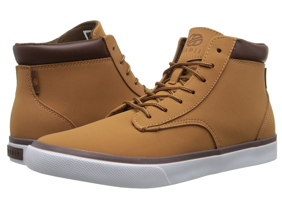 radii Footwear - Basic (Tan Chocolate Nubuck) Men