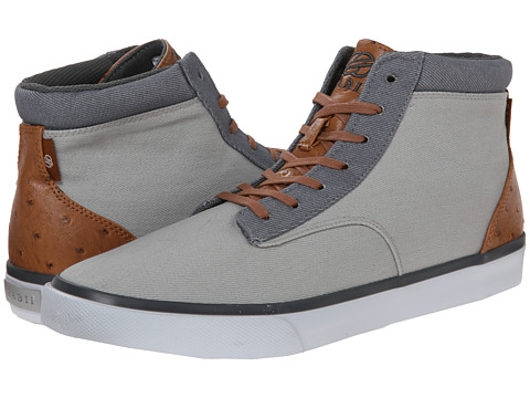 radii Footwear - Basic (Grey Charcoal Ostrich) Men's Shoes