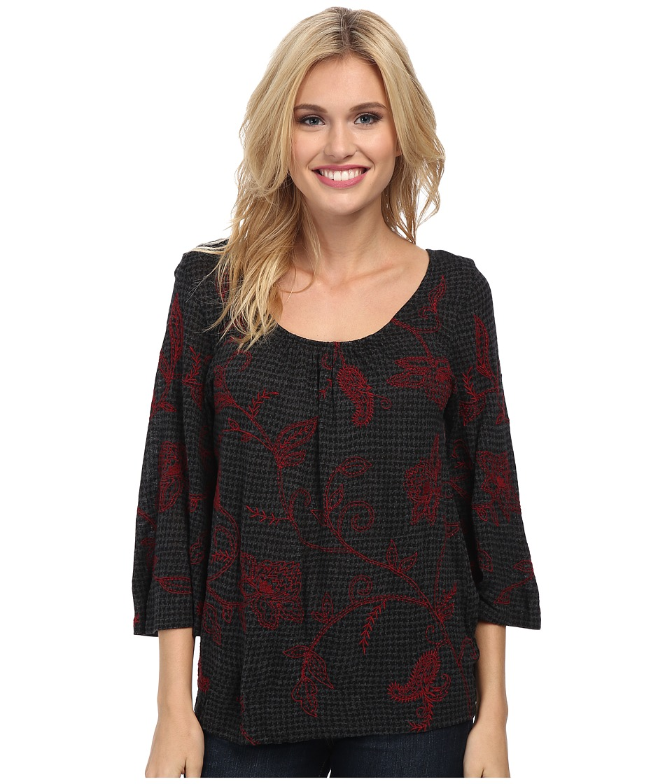 Lucky Brand - Houndstooth Top (Multi) Women's Blouse