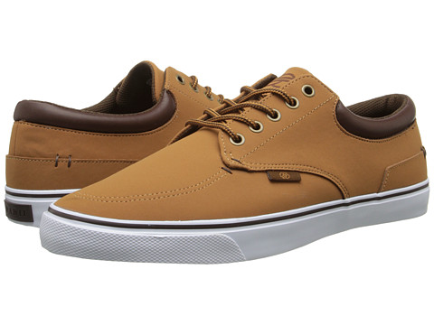 radii Footwear - Deck (Tan Chocolate Nubuck) Men's Shoes