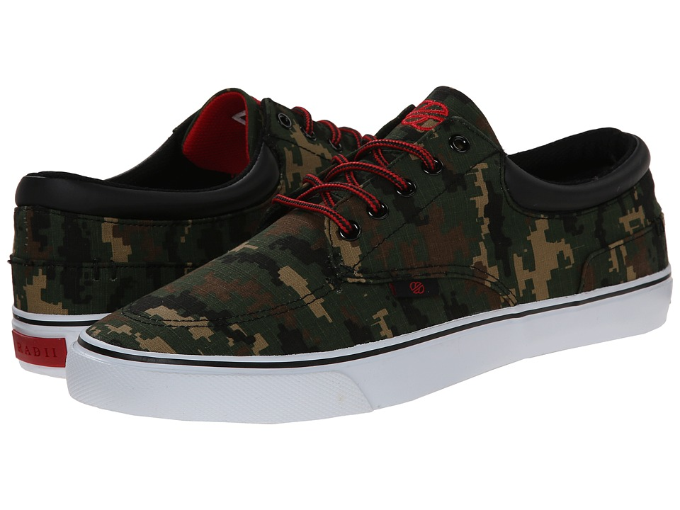 radii Footwear - Deck (Digi Canvas Camo) Men
