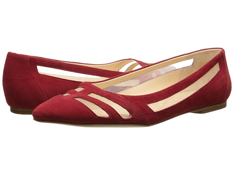 Isola - Cerise (Fire Red Chrome Free Suede/Mesh) Women