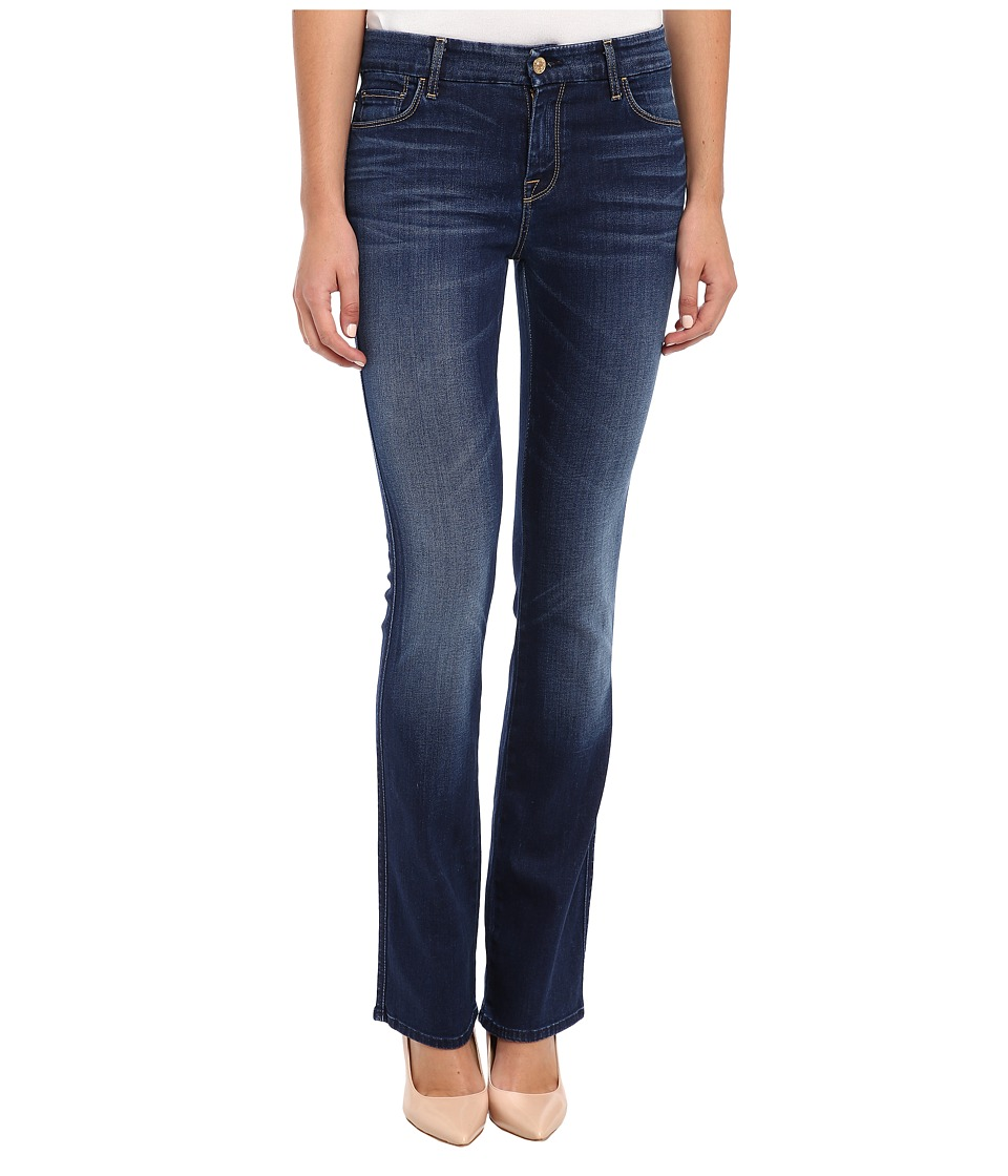 7 For All Mankind - The Skinny Bootcut in Slim Illusion Geneva Blue (Slim Illusion Geneva Blue) Women