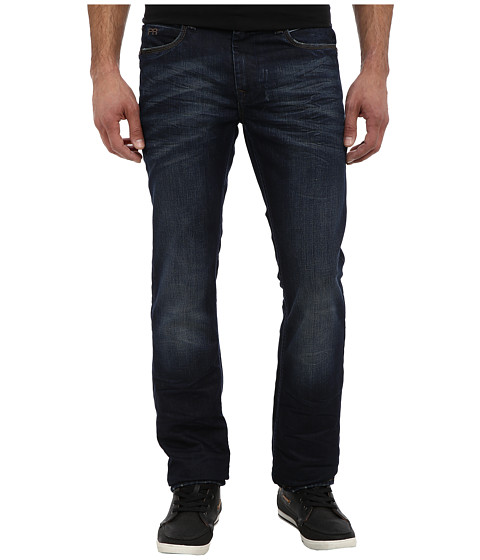 PROJEK RAW - Regular Fit Dark Denim in Blue (Blue) Men's Jeans