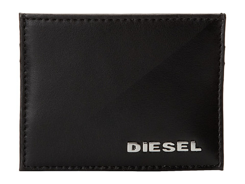 Diesel - Blockin' Leather New Johnas I (Black/Black) Bags