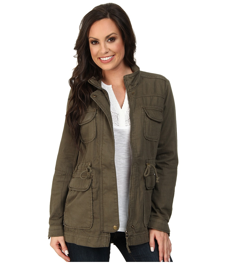 Lucky Brand - Core Military Jacket (Field Green) Women's Jacket