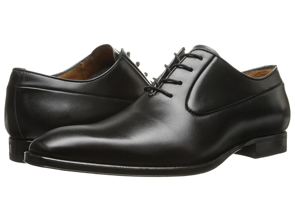 Mezlan - Elder (Black) Men's Plain Toe Shoes
