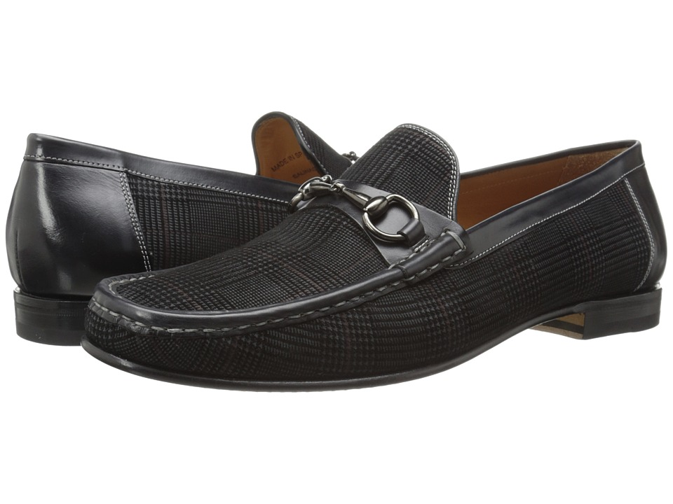 Mezlan - Salinas (Grey/Black) Men's Slip-on Dress Shoes