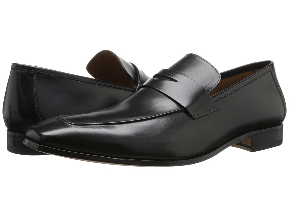 Mezlan - Fresco (Black) Men's Slip-on Dress Shoes