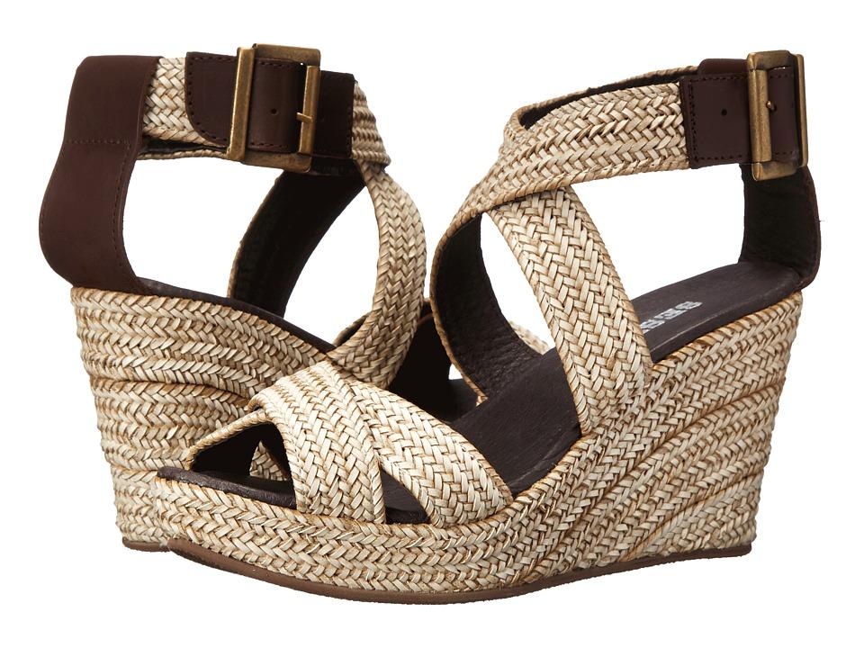 Sesto Meucci - 7596 (Marfil (Beige) Trenzilato) Women's Wedge Shoes