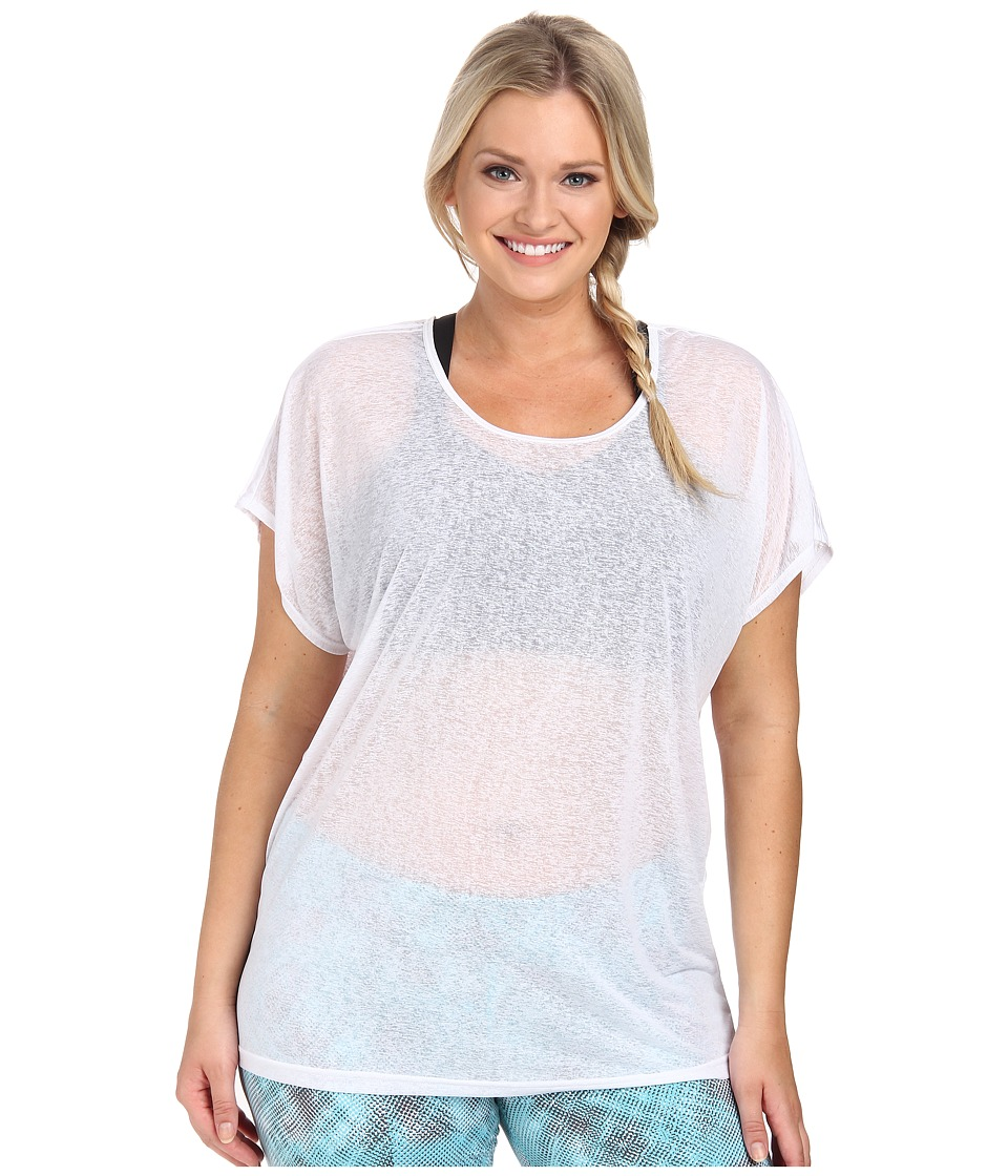 Soybu - Plus Size Camryn Tee (White) Women's T Shirt