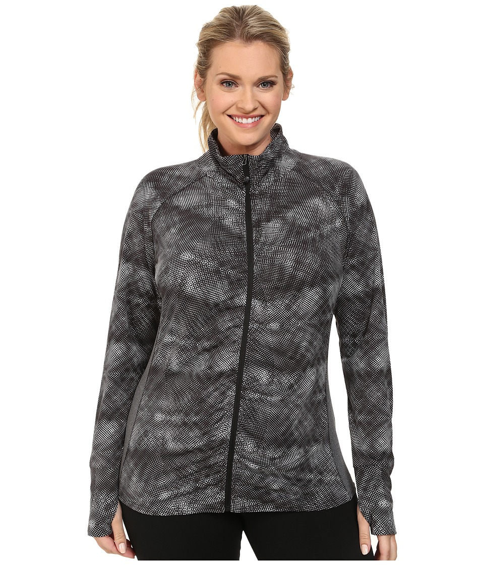 Soybu - Plus Size Jacinda Jacket (Black Halftone) Women's Jacket