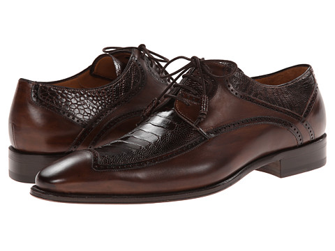 Mezlan - Toledo (Brown) Men's Lace Up Wing Tip Shoes