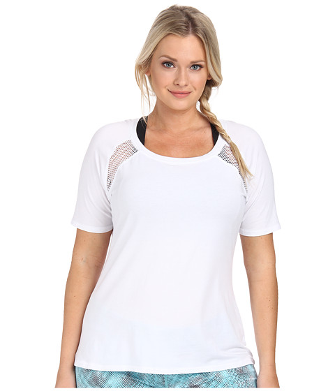 Soybu - Plus Size Reese Tee (White) Women