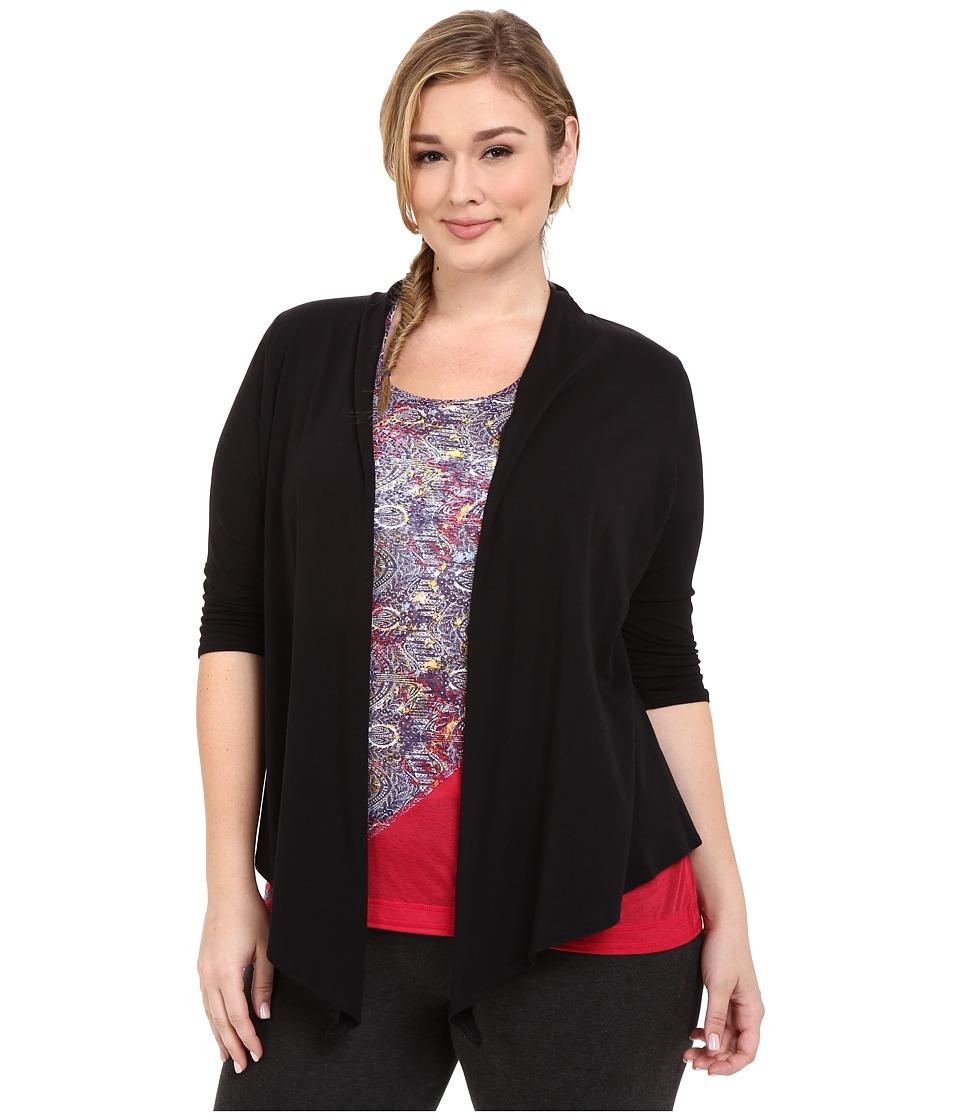 Soybu - Plus Size Meryl Wrap (Black) Women's Clothing
