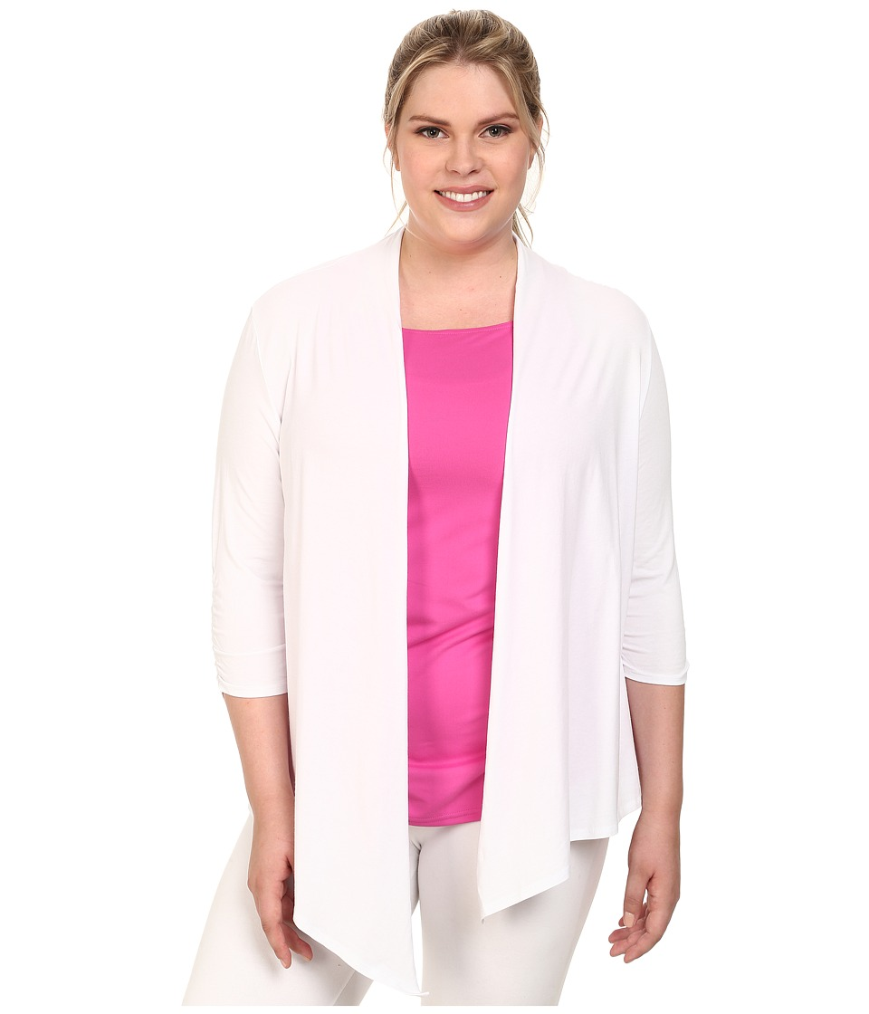 Soybu - Plus Size Meryl Wrap (White) Women