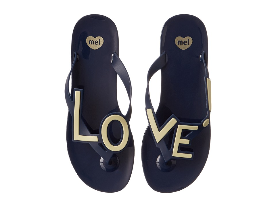 Mel by Melissa - Mel Love City (Navy) Women's Sandals