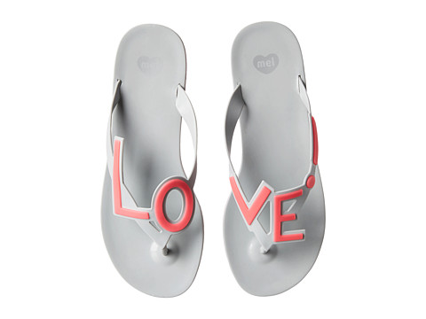 Mel by Melissa - Mel Love City (Grey) Women's Sandals