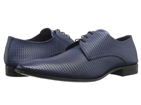 Mezlan - Martini (Blue) Men's Plain Toe Shoes