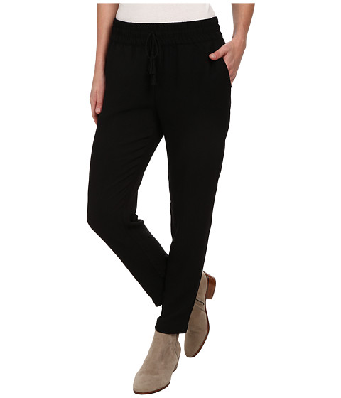 Lucky Brand - Soft Pant (Lucky Black) Women's Casual Pants