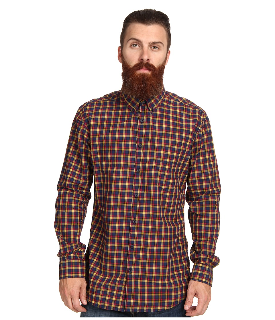 Rodd & Gunn - Chancellor L/S Shirt (Crimson) Men