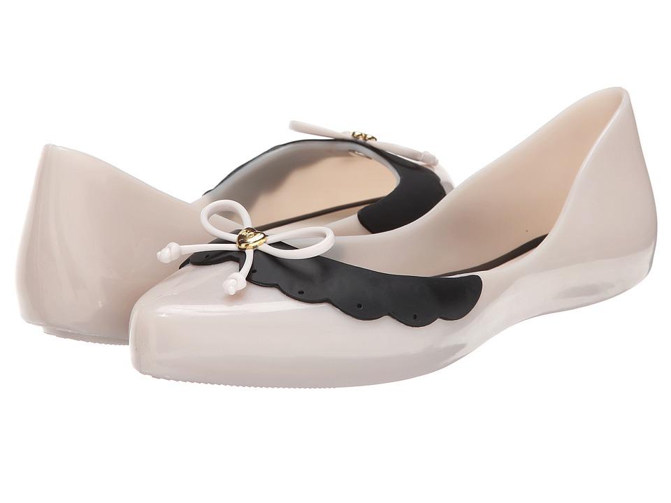 Mel by Melissa - Mel Dreaming II (Beige/Black) Women's Slippers