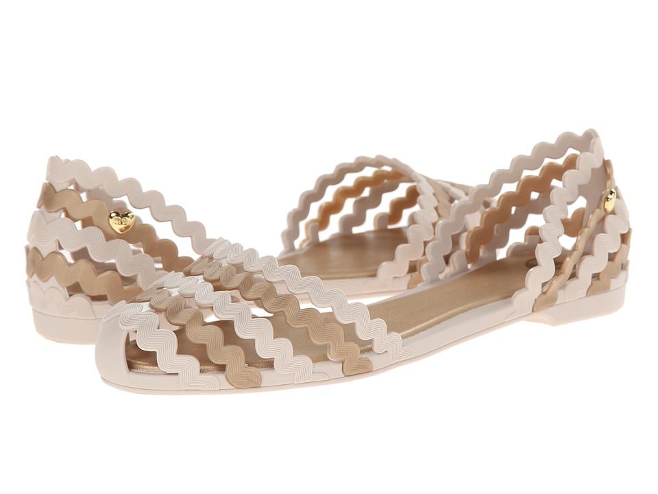Mel by Melissa - Mel Sweetie (White Gold) Women's Slippers