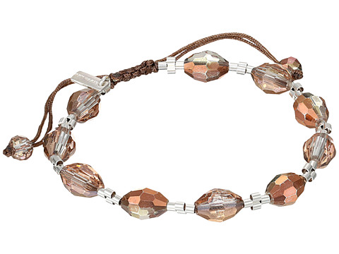Chan Luu - 7 1/4 Copper Crystal Pull Tie Single Bracelet (Copper Crystal) Bracelet