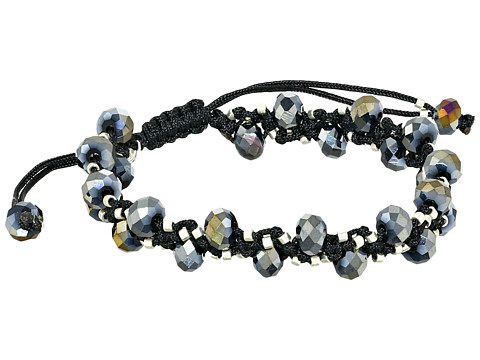 Chan Luu - 6 3/4 Twilight Crystal Pull Tie Single Bracelet (Twilight Crystal) Bracelet