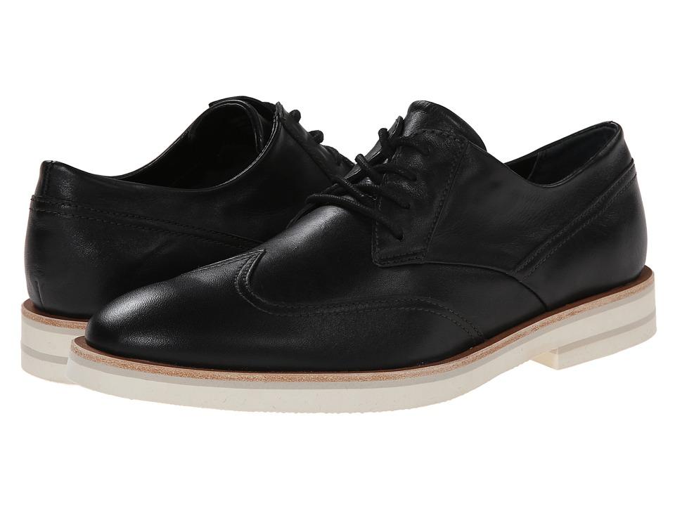 calvin klein gabriel black leather s lace up