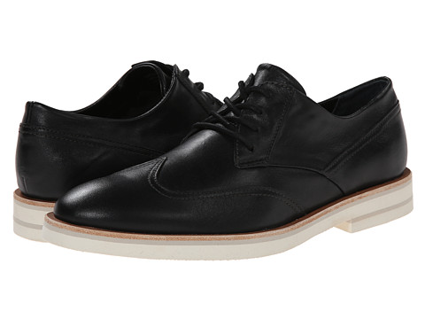 Calvin Klein - Will (Black Leather) Men's Lace up casual Shoes