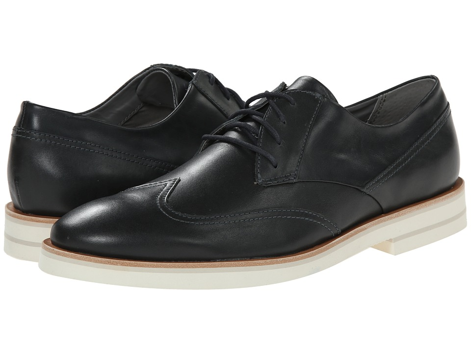 Calvin Klein - Will (Navy Leather) Men's Lace up casual Shoes