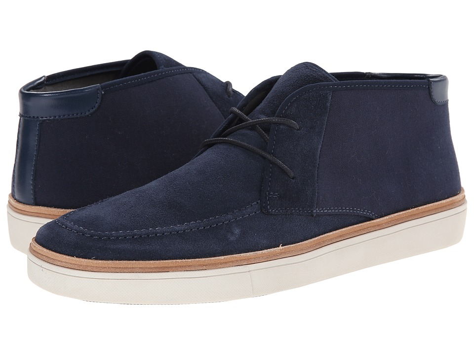 Calvin Klein - Jake (Dark Blue Suede/Canvas) Men