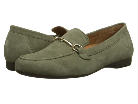 Gabor - Gabor 2.2594 (Military Samtchevreau) Women's Slip on Shoes