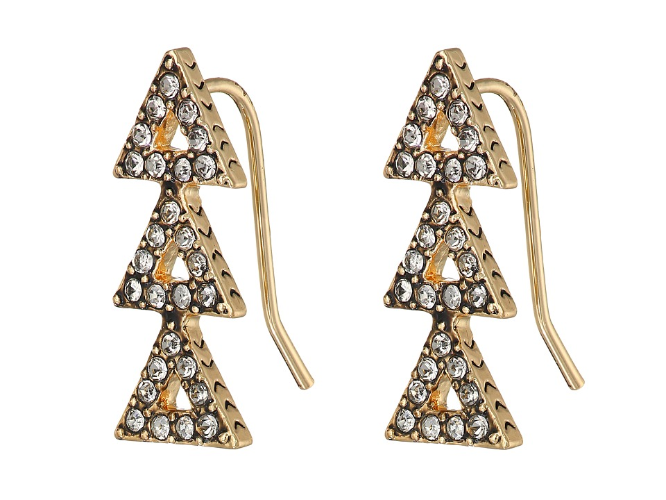 House of Harlow 1960 - Tessellation Earrings (Gold) Earring