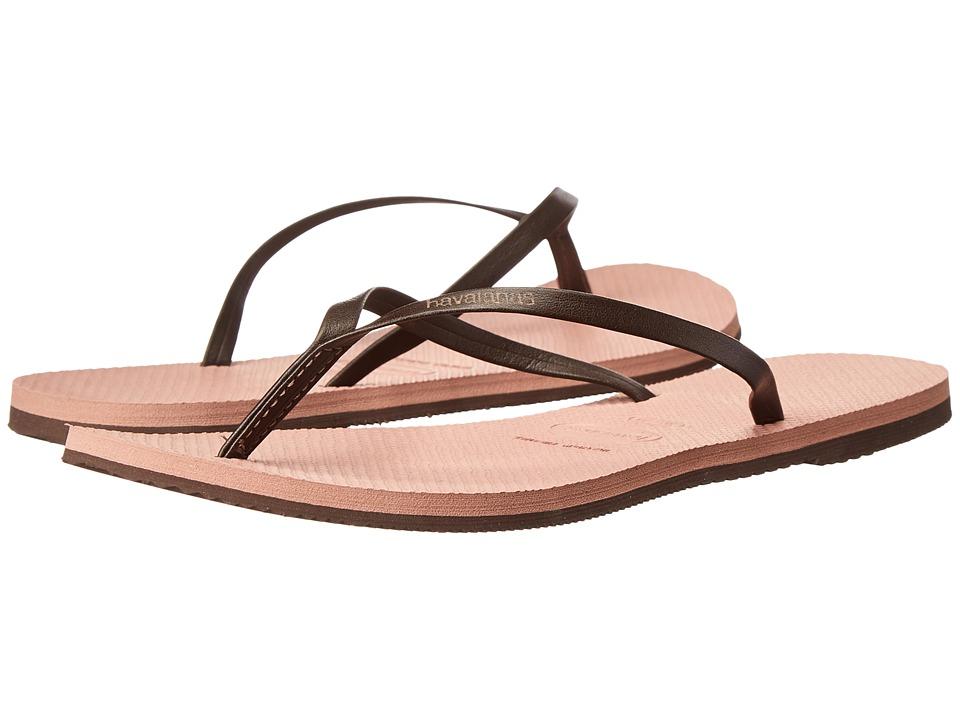 Havaianas - You Flip Flops (Crocus Rose) Women