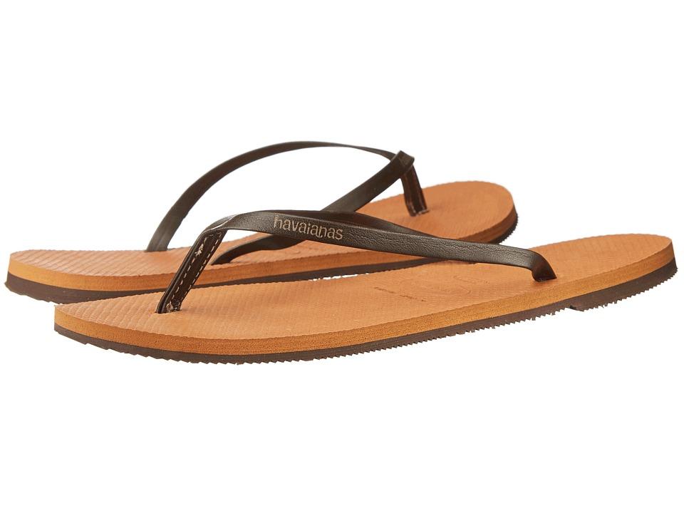 Havaianas - You Flip Flops (Copper) Women's Sandals
