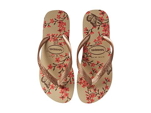 Havaianas - Color Fashion Flip Flops (Sand Grey) Women