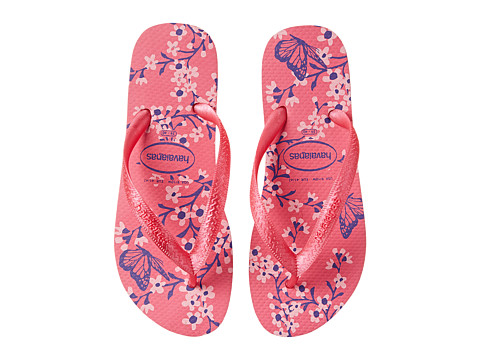 Havaianas - Color Fashion Flip Flops (Shocking Pink) Women