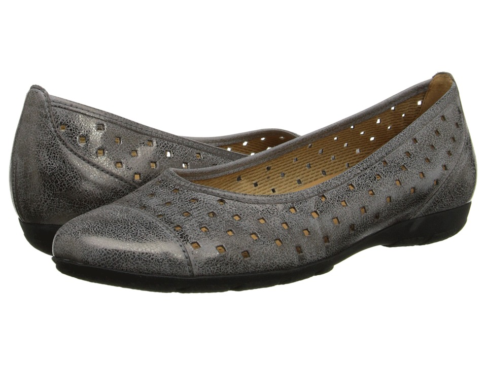Gabor - Gabor 2.4169 (Argento Used Metallic Brush) Women's Flat Shoes