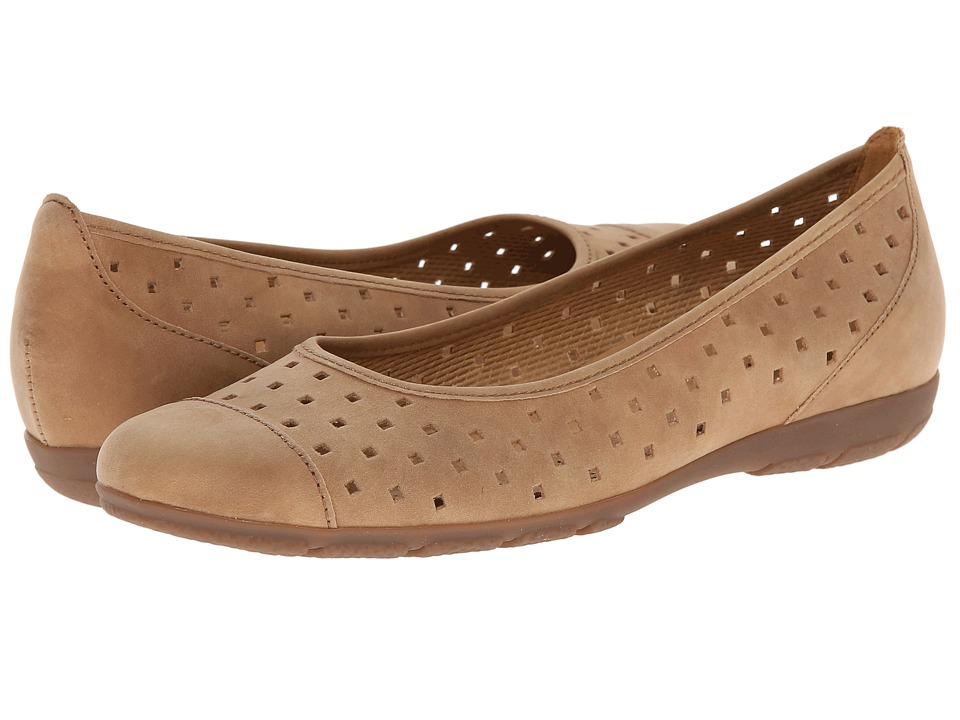 Gabor - Gabor 2.4169 (Cuoio Used Nubuck) Women's Flat Shoes
