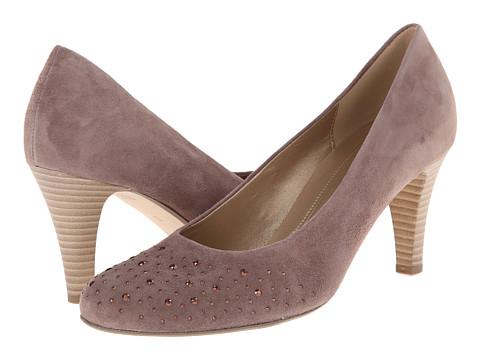Gabor - Gabor 2.5212 (Dark-Nude Samtchevreau) High Heels
