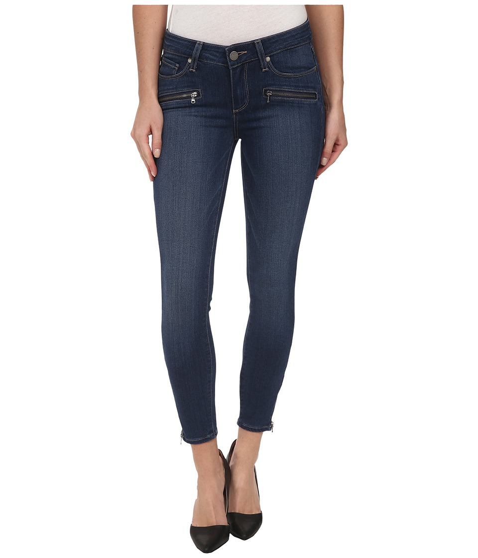 Paige - Jane Zip Crop in Lex No Whiskers (Lex No Whiskers) Women's Jeans