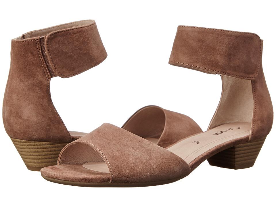Gabor - Gabor 2.5850 (Dark-Nude Samtchevreau) Women's 1-2 inch heel Shoes