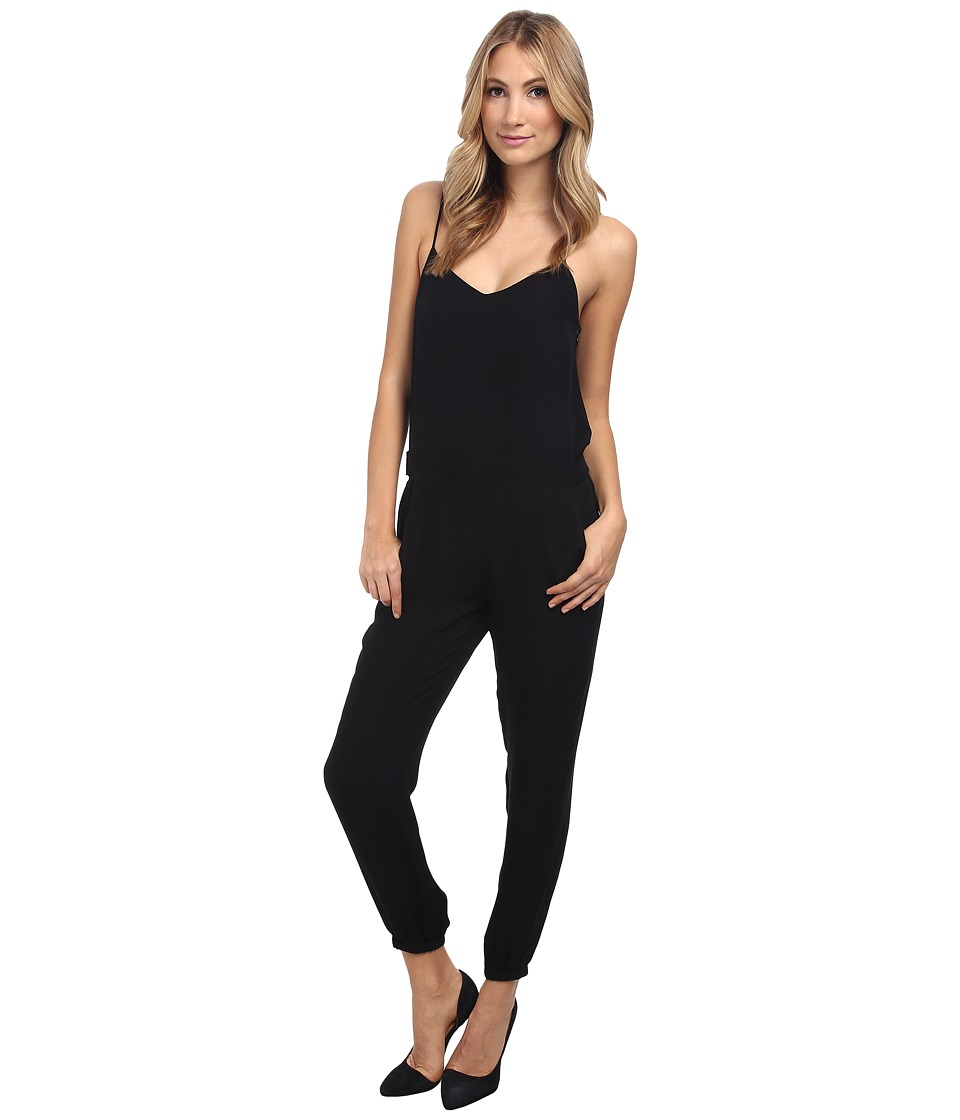 Theory - Stassia Jumpsuit (Black) Women's Jumpsuit & Rompers One Piece