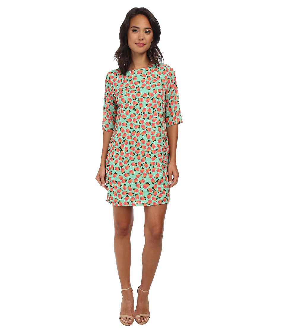 Brigitte Bailey - Lola Shift Dress (Green Pears) Women's Dress