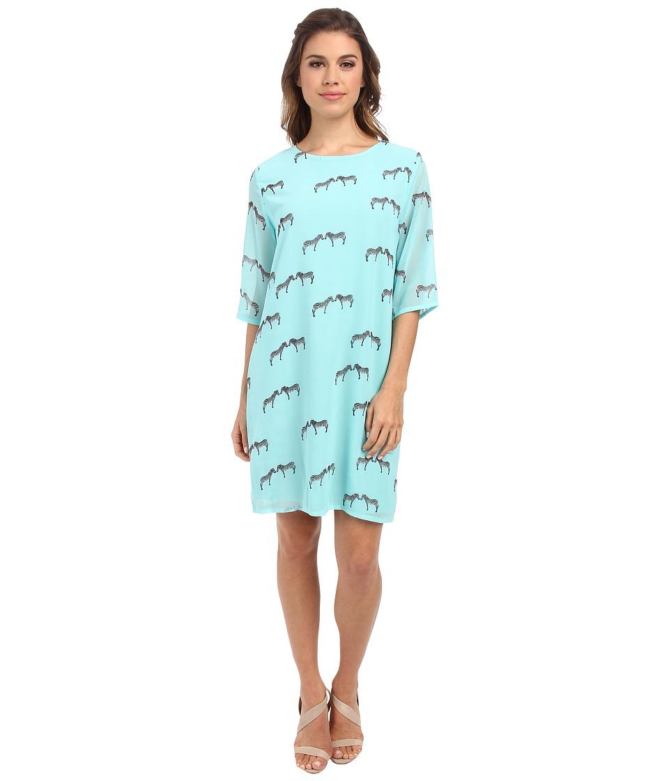 Brigitte Bailey - Lola Shift Dress (Zebra) Women's Dress