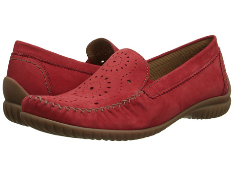 Gabor - Gabor 2.6094 (Fragola Nubuck Soft) Women's Slip on Shoes