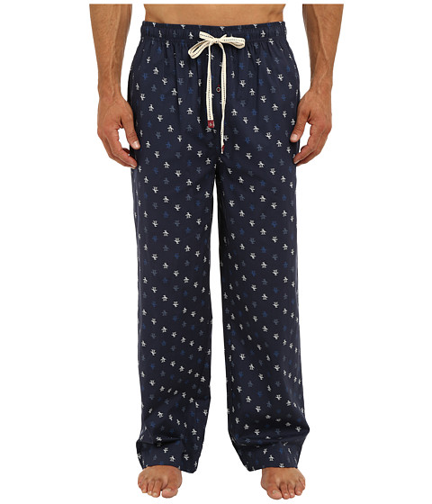 Original Penguin - Penguin Woven Pant (Dress Blue/Navy) Men's Pajama