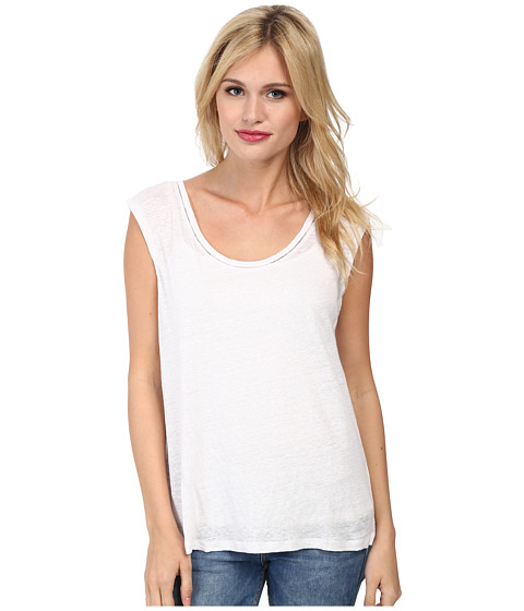 Paige - Barry Tee (Optic White) Women